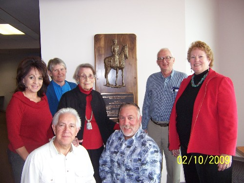 Board of Directors with Bas Relief