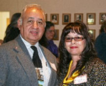 Armando Pollack and Hope Vigil-Martinez