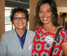 Antonia Vigil and Annette Vigil-Gallegos