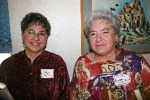 Nancy Ulibarri and Geneva Benevidez